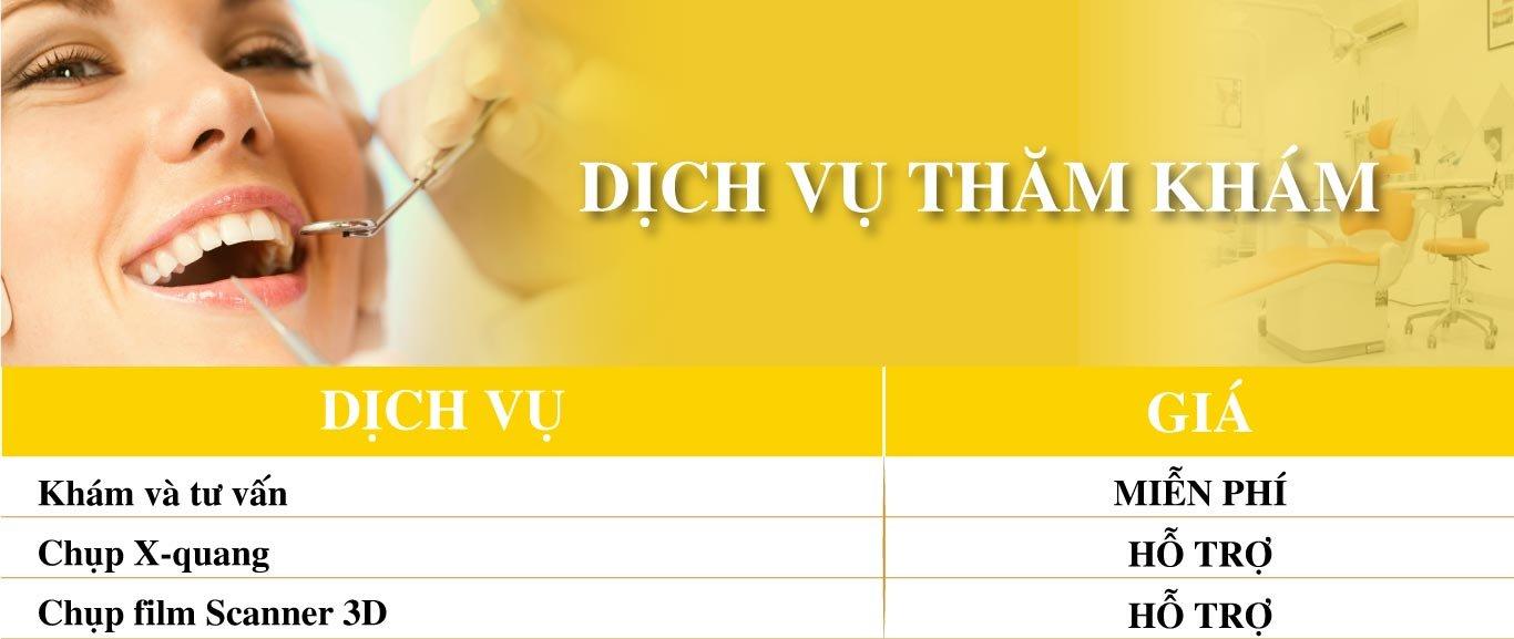 Dich Vu Mien Phi Tham Kham Nha Khoa Dong A