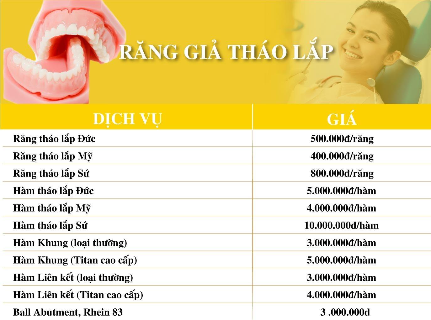 Dich Vu Rang Gia Thao Lap Nha Khoa Dong A Phu Nhuan