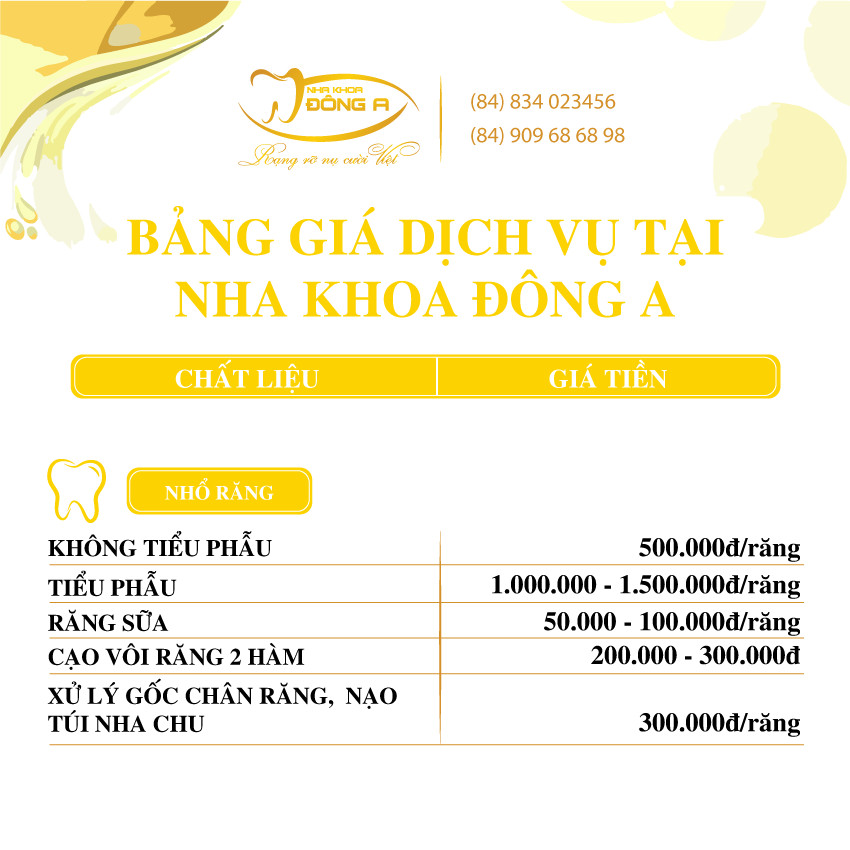 Nho Rang Nha Khoa Dong A