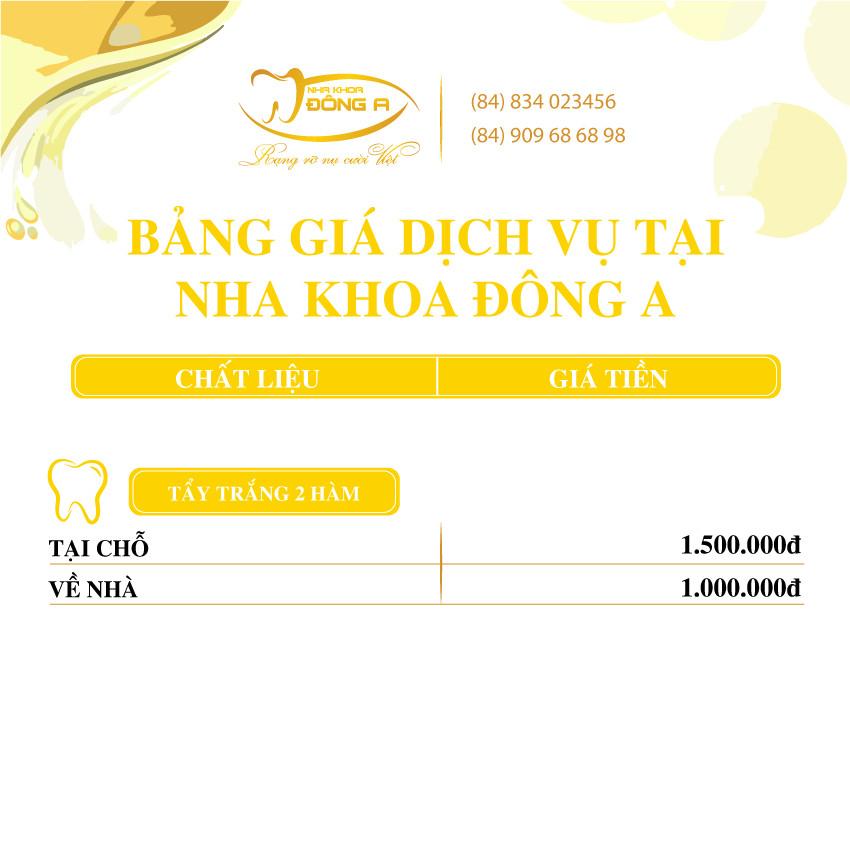Tay Trang Rang Nha Khoa Dong A
